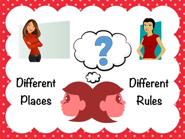 Different Places, Different Rules by Ellen Weber