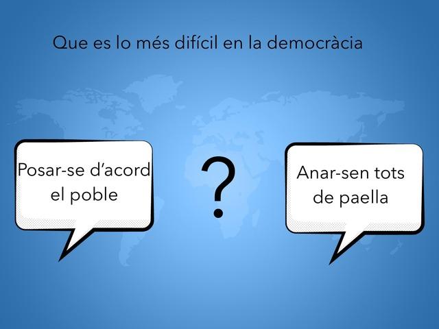 La Democràcia 2 by GIMENO LLOPIS PAU