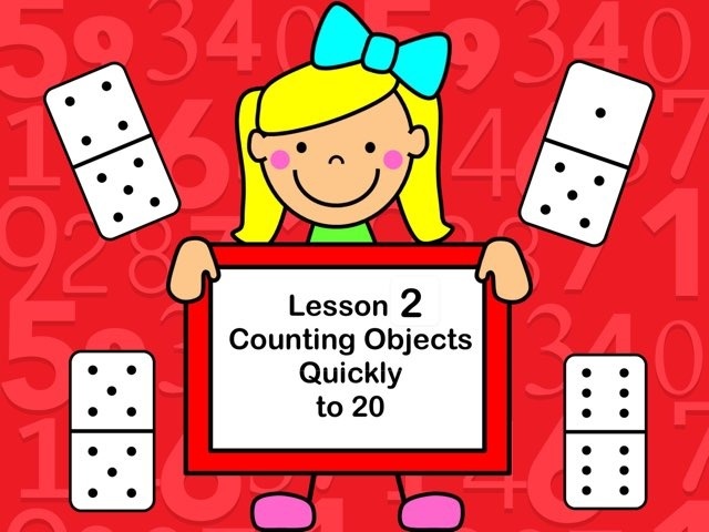 Subitizing-Lesson 2  by Jennifer
