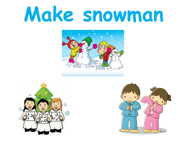 K3 Things To Do In Winter by Beverly Ramirez-Roque