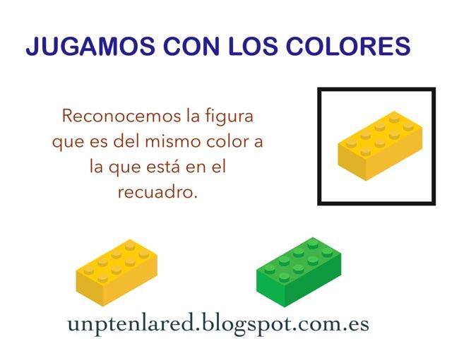 Jugamos Con Los Colores. Reconocer Colores Iguales. by Jose Sanchez Ureña
