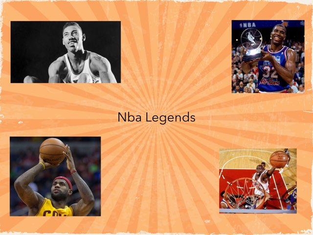 NBA Players by Frances Chapin