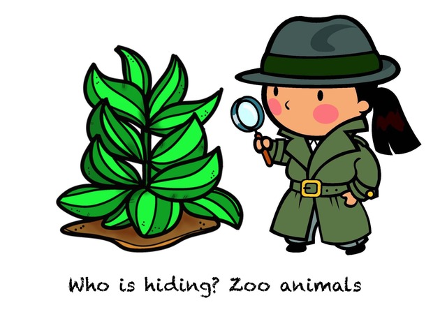 Who Is Hiding? Zoo Animals by Madonna Nilsen