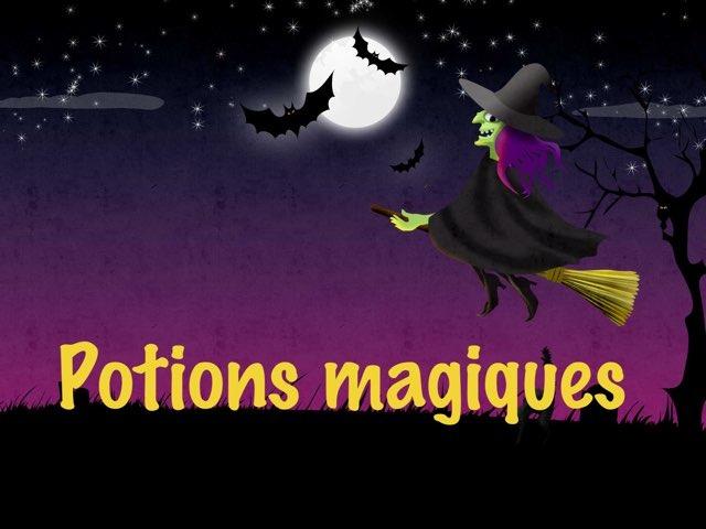Potions magiques by Sylvianne Parent
