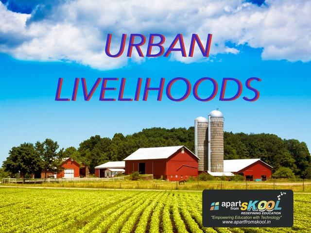 Urban Livelihood by TinyTap creator