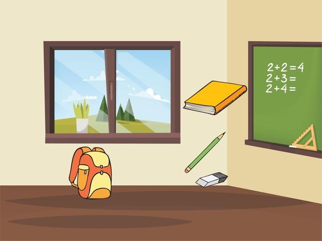 It's A .....  School Items  by Faye Fahad