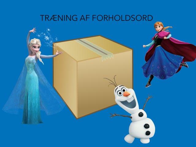 TRÆNING AF FORHOLDSORD by Line Poulsen