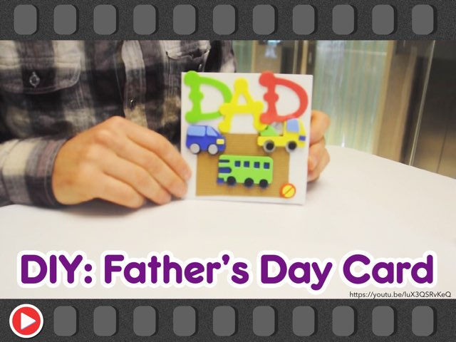 DIY: Father's Day Card by Mr Lewis
