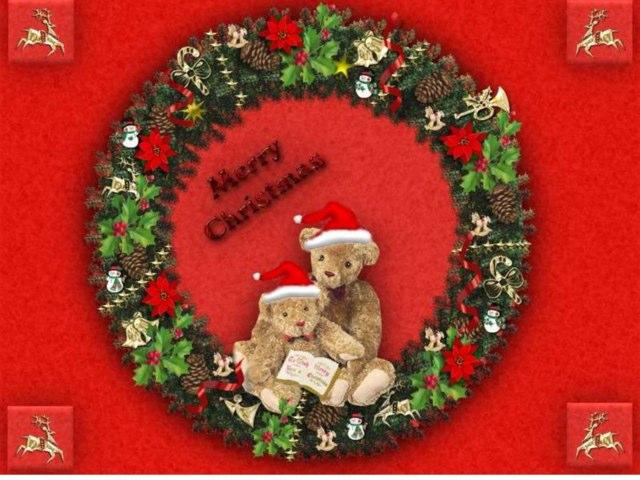 MERRY CHRISTMAS by Marie-Laure Varcoe