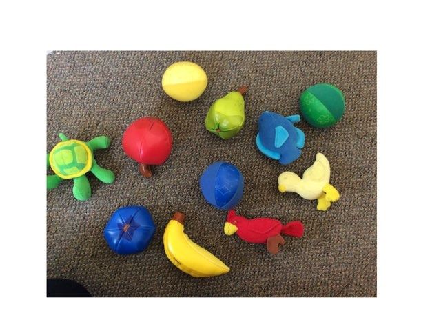 Colour Sorting by Little Treasures Nursery