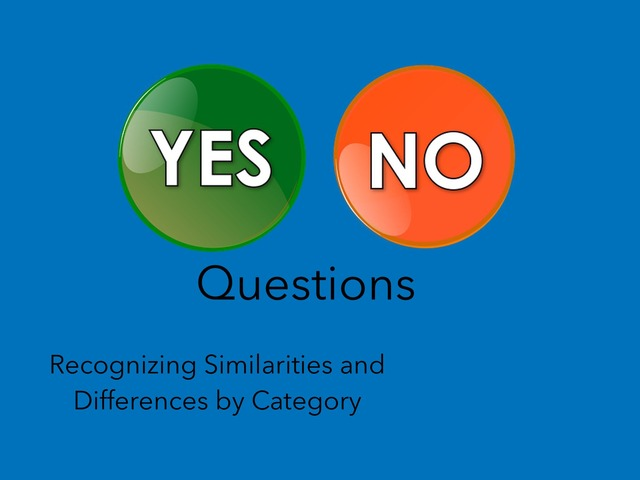 Yes, No Questions #3 by Carol Smith