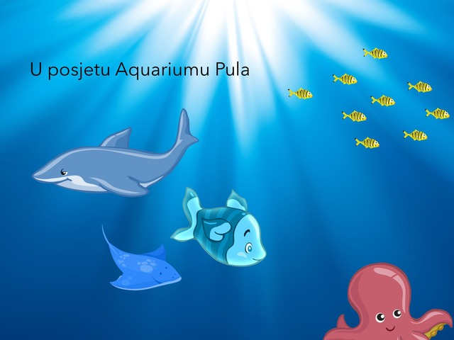 Posjet Akvariju by natasa delac