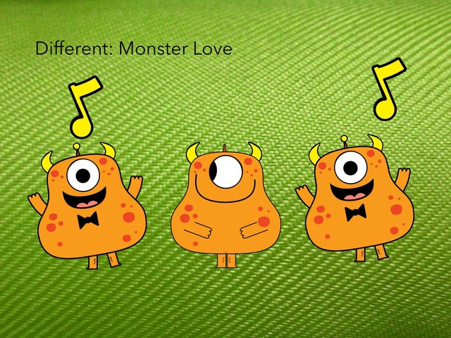 Different: Monster Love by Carol Smith