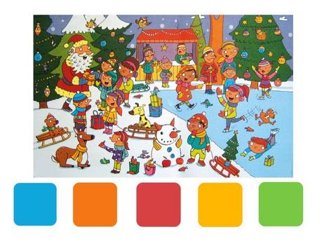 Zoekplaat Kerst by Bo J.