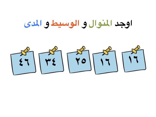 المدي والوسيط والمنوال by abrar25 al-enzy