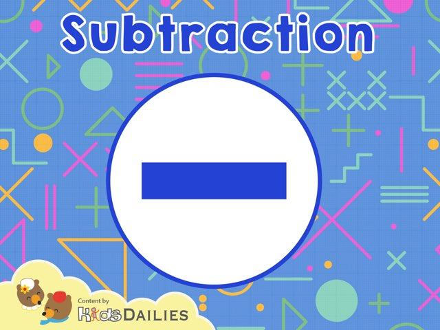 Subtraction by Kids Dailies