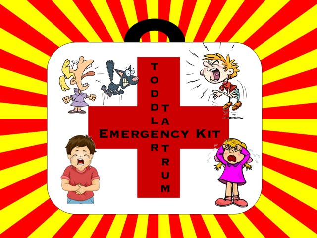 Toddler Emergency Kit by Ellen Weber