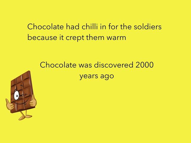 Chocolate Quiz by RGS Springfield