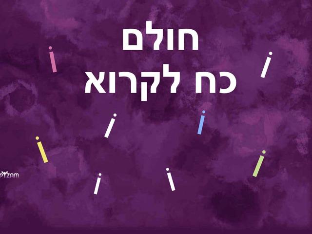 חולם-כח לקרוא-חוברת ד' by Husan Abo Elhega