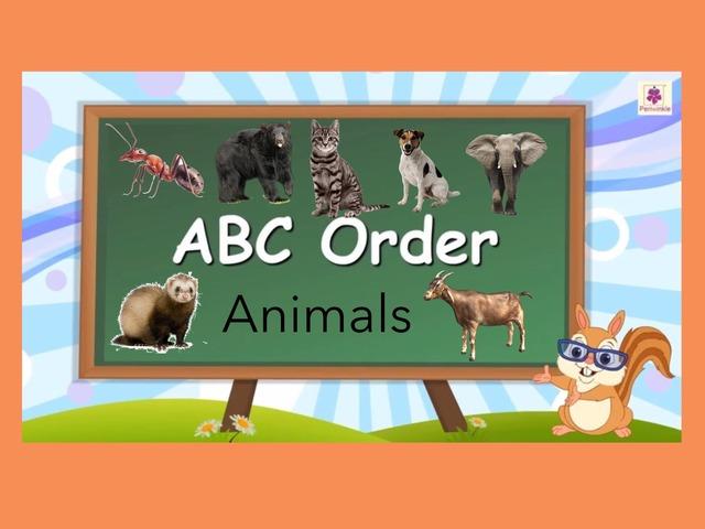 ABC Order (animals) by Carol Smith