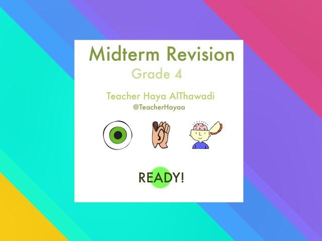 Midterm Revision by Haya Althawadi
