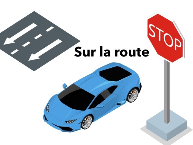 Sur La Route by Gloria Riddle