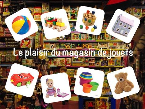 Le plaisir du magasin de jouets by Catherine Davies
