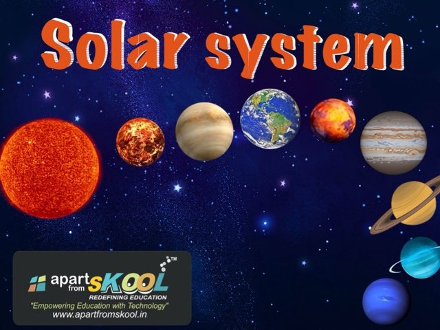 Solar System by TinyTap creator