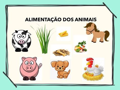 ALIMENTAÇÃO DOS ANIMAIS 2021 by Aline Oliveira