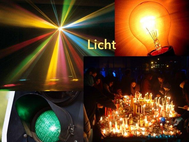 Licht - Uitprobeerden by Francisca van Hoesel