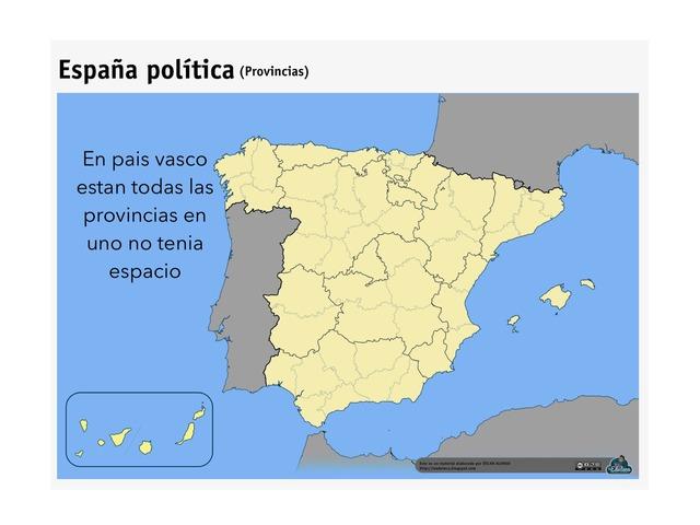 Provincias De España by Iker Cimadevilla Martinez