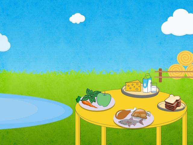 المجموعات الغذائية by afrah alalll