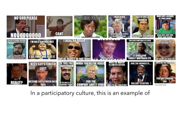 Participatory culture by Galvin Ngo