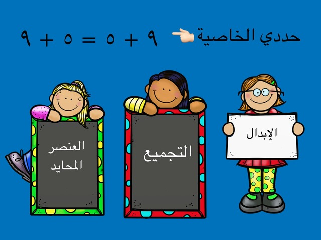 خصائص الجمع وتقدير الجمع  Copy  by المعلمه فردوس السادة