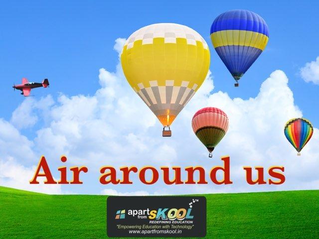 Air Around Us by TinyTap creator