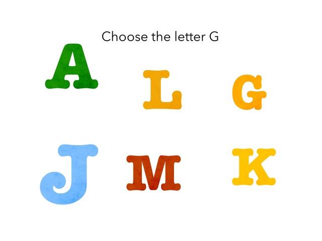 Letter G by Maryam Al Ali