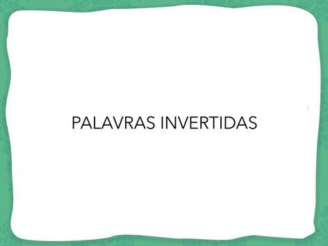 Palavras Invertidas by Lea Santos