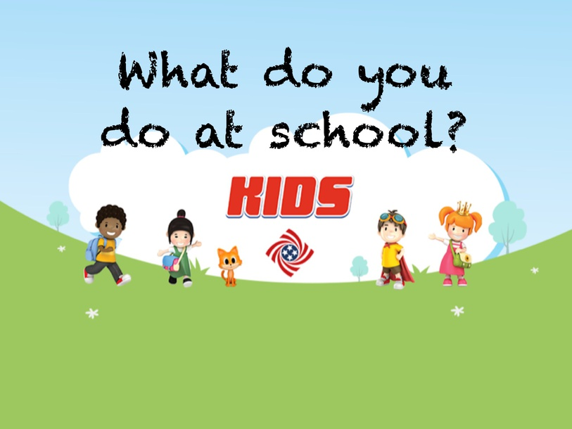 What do you do at school? by Thomas Jefferson