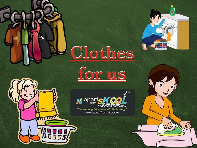 Clothes For Us by TinyTap creator