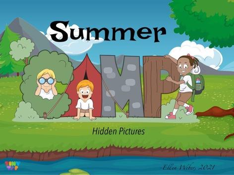 Summer Camp Hidden Pictures by Ellen Weber