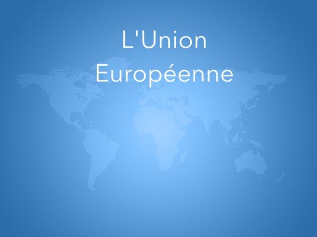 Exemple UE by Becquet Maxime