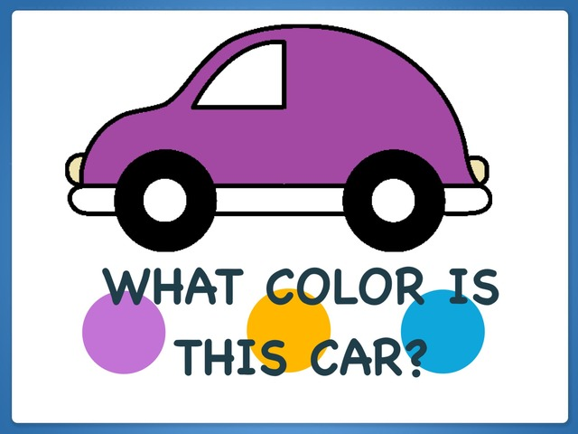 What Color Is This Car? by Hadi  Oyna
