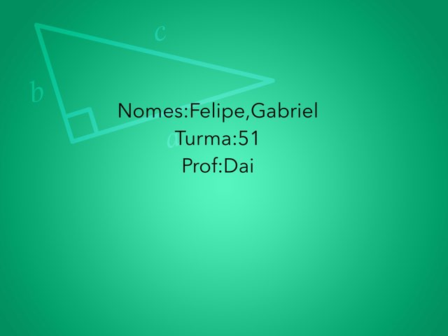 Gabriel E Felipe by Rede Caminho do Saber