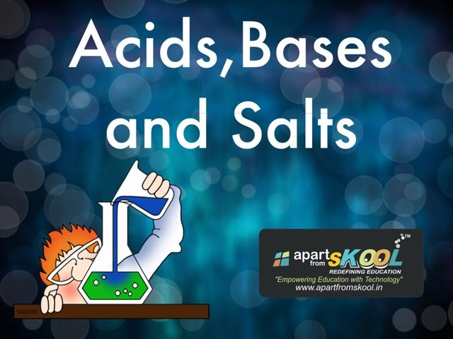 Acids, Bases And Salts by TinyTap creator
