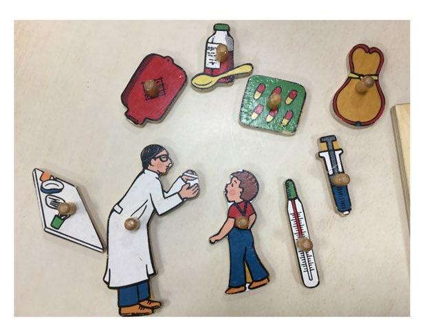 פאזל בדיקת רופא by Varda Lavi