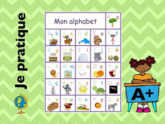 Je pratique mon alphabet by Sylvianne Parent