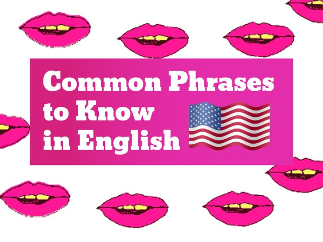 Common Words & Phrases To Know - English by Tiny Tap