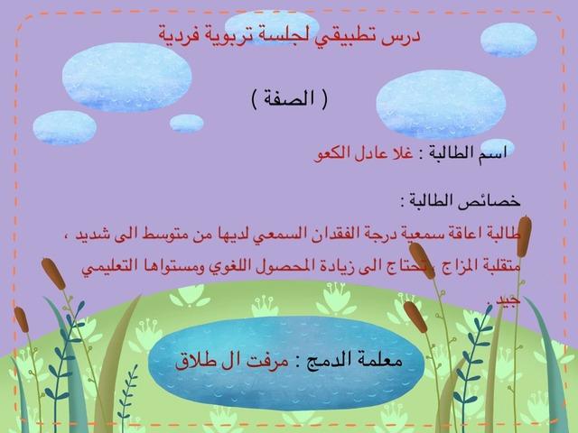 الصفة by Fatimah Smail