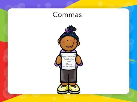 Commas by Jay