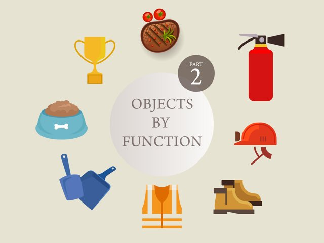Objects By Function 2 by Claire Sunderland
